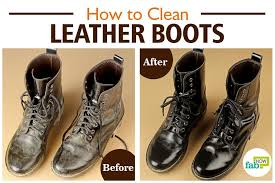 how to get salt off leather boots
