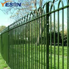 China Wholesale Price China Wrought Iron Fence Supply Bow Top Fence Yeson Factory And Manufacturers Yeson
