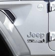 Jl Jt Silver Bullet Edition Fender Decal Set Jeep Wrangler Decal
