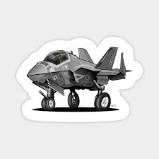 2 Us Air Force F 35 Jsf Aircraft Sticker Military Vinyl Graphics Decal Car