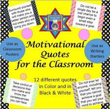 motivational classroom quotes by shari beck teachers pay teachers