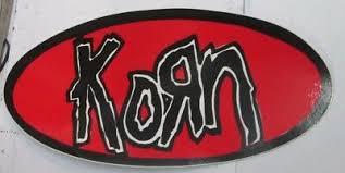 Korn Sticker Collectible Rare Vintage 90 S Metal Live Window Decal Ebay