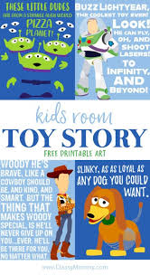 Free Toy Story Printable Posters And Artwork For Toy Story Nursery Or Bedroom Theme Toystory4 Classy Mommy
