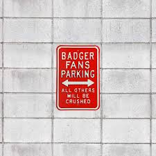 wisconsin badgers crushed parking
