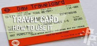 london travelcard how it works when