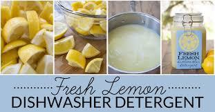natural homemade dishwasher detergent