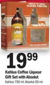 kahlua coffee liqueur gift set