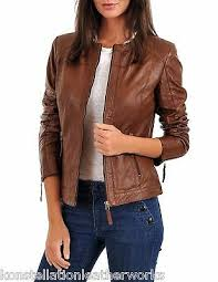 quilted leather jackets round neck