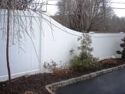 Tapered Vinyl Privacy Fence Vinyl Privacy Fence The Great Outdoors Vinyl Fence