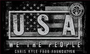 We The People Decal Chris Kyle Frog Store