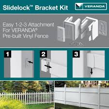 Veranda Slidelock Bracket Kit 2 Pack With Screws 73014326 Oopes