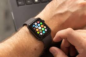 New redesigned Apple Watch Series 4 ...
