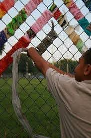 20 Chainlink Fence Art Ideas Fence Art Fence Chain Link Fence
