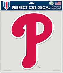 Amazon Com Wincraft Philadelphia Phillies 8x8 Die Cut Decal Sports Fan Decals Sports Outdoors