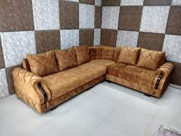 linsa corner sofaset l shape sofa set