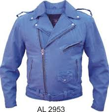 motorcycle style jacket w half belt