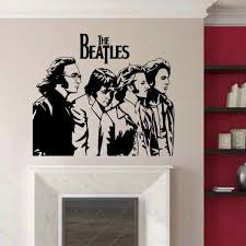 The Beatles Wall Decals Wayfair