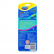 scholl gel activ insoles open shoes