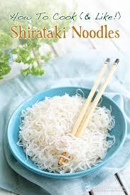 how to cook like shirataki noodles