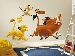 The Lion King Peel Stick Giant Wall Decals Walldecals Com