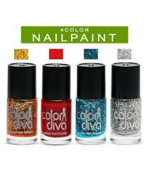 color nail polish multicolor natural