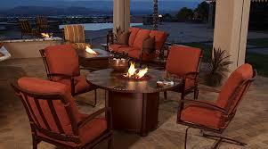 o w lee absco fireplace patio