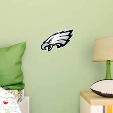 Amazon Com Fathead Nfl Philadelphia Eagles Logo Teammate Officially Licensed Removable Wall Decal Multicolor Big Large 89 03362 Toys Games