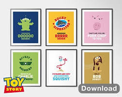 toy story instant s set of disney wall art decor