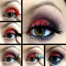 red eye makeup looks our top 9