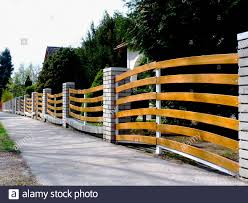 Front Fence And Gate Home High Resolution Stock Photography And Images Alamy