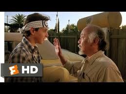 Wax On Wax Off The Karate Kid 2 8 Movie Clip 1984 Hd Youtube