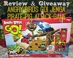 GIVEAWAY: Angry Birds GO! Jenga Pirate Pig Attack Game! #Hasbro ...