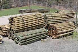 Strauss Fence Company Treated Southern Yellow Pine Fence Posts