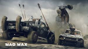 car battle in mad max wallpaper game