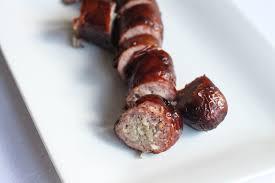 homemade smoked sausage