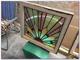 1930s stained glass windows home