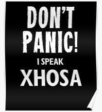 xhosa posters redbubble
