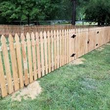 Cedar 4ft French Gothic Picket Horne Fence Builders Llc Facebook