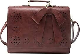 ecosusi briefcase for women laptop bag