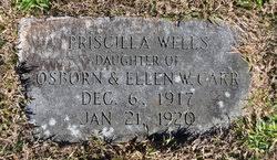 Priscilla Wells Carr (1917-1920) - Find A Grave Memorial