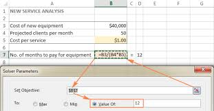 excel solver tutorial with step by step