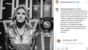 """GF Vip, Adriana Volpe rompe il silenzio dopo l'addio: """"È un ..."""