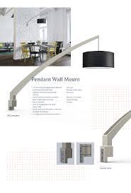 pendant wall mount on behance