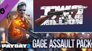 PAYDAY 2 The DLC - รีวิว Gage Assault Pack และ chicago typewriter ...