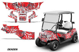 Golf Cart Graphics Kit Decal Sticker Wrap And 50 Similar Items