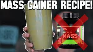 healthy homemade m gainer shake