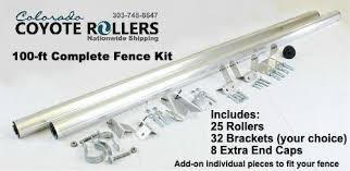 Colorado Coyote Roller 100 Foot Fence Diy Kit Coyote Rollers Direct