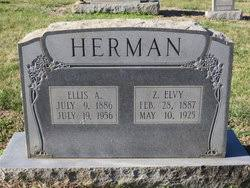 "Zora Elvia ""Elvie"" McCall Herman (1887-1925) - Find A Grave Memorial"