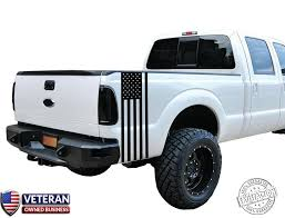 Universal Truck American Flag Bed Stripe Vinyl Decal Roe Graphics And Apparel