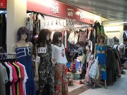 zhanxi clothing market area business